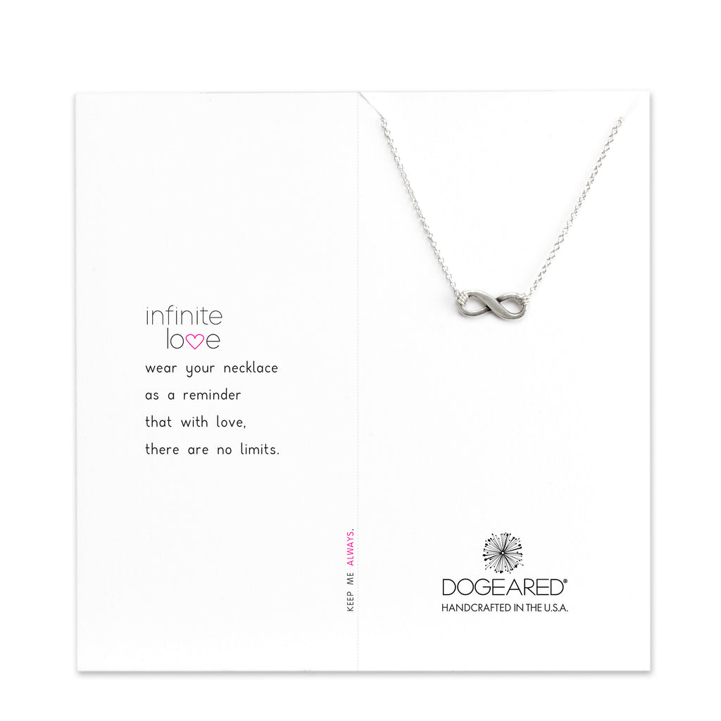 Infinite love necklace sterling silver lawrence anthony fine infinite love necklace sterling silver aloadofball Images