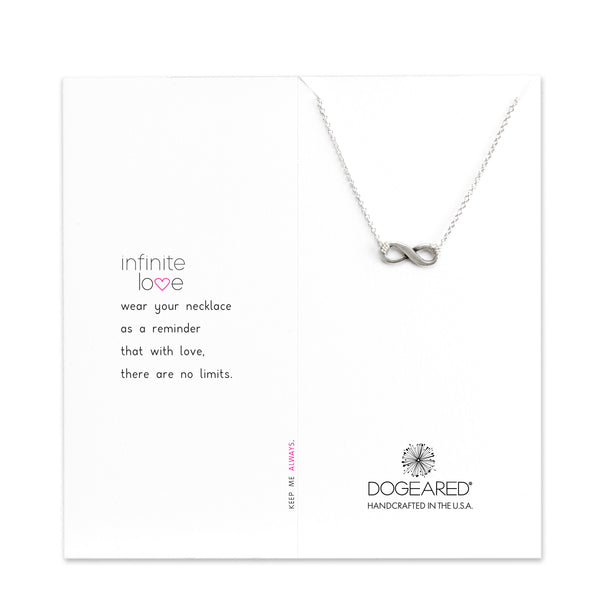 Infinite Love Necklace - Sterling Silver