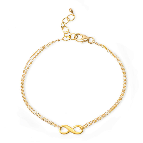 Infinite Love Bracelet - Gold Dipped