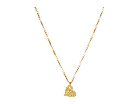 Heart Love Necklace - Gold Dipped
