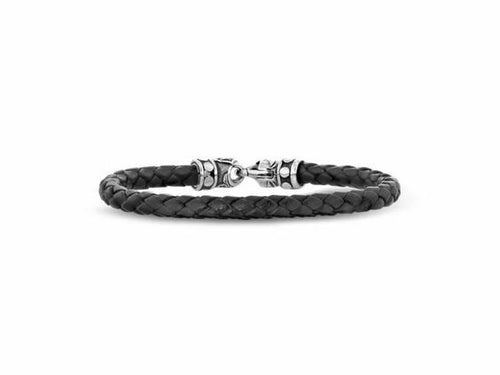 Classic Woven Leather Bracelet