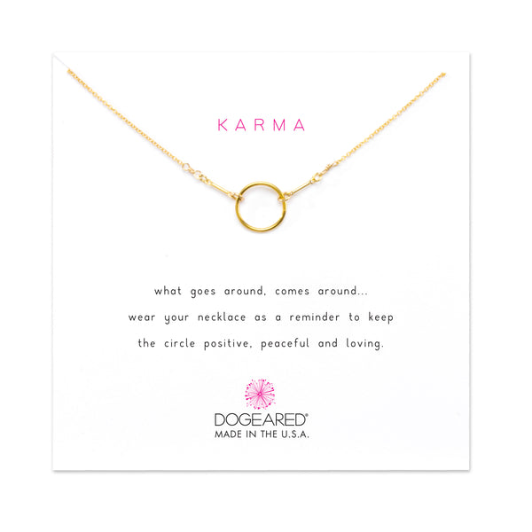 The Original Karma Necklace - Gold Dipped