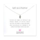Light As A Feather Necklace - Sterling Silver