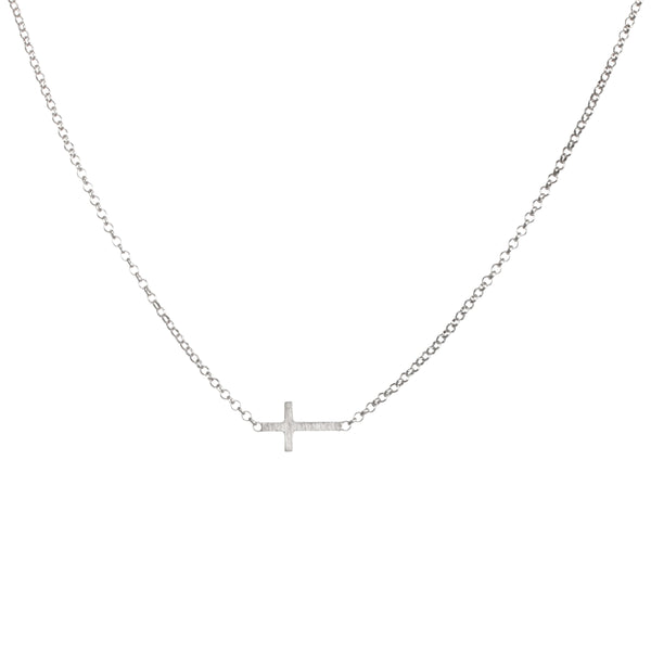 Faith Necklace - Sterling Silver