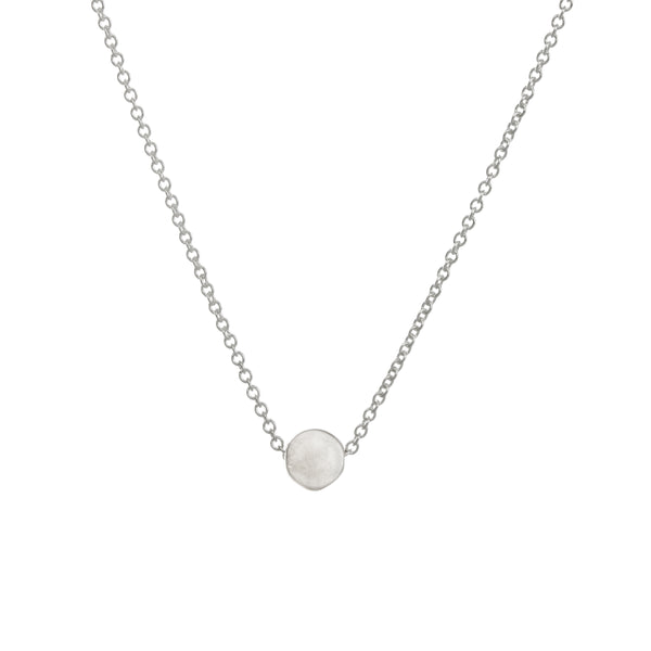 The Circle Necklace - Sterling Silver