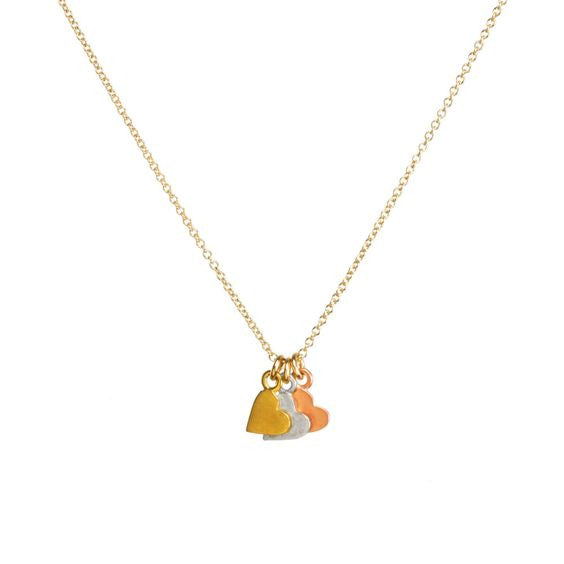 Yesterday Today And Forever Necklace - Gold Dipped Chain