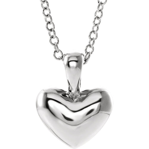Youth Heart Shaped Necklace