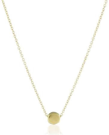 The Circle Necklace - Gold Dipped