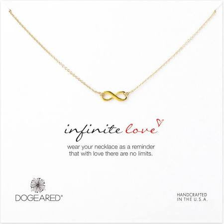 Infinite Love Necklace - Gold Dipped