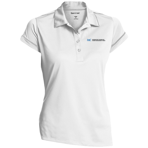 ITSMF Ladies Contrast Stitch Performance Polo