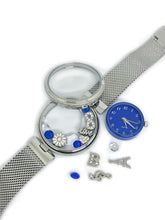 Blue- charm watch
