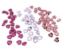 Heart shape gemstones