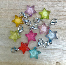 Star dangle charms