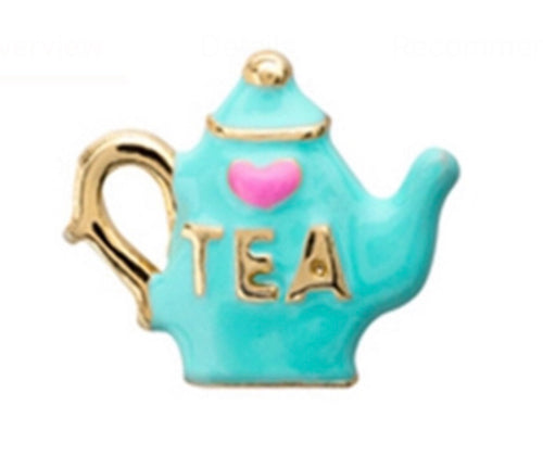 Gold or silver teapot
