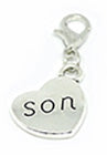 Son dangle charm