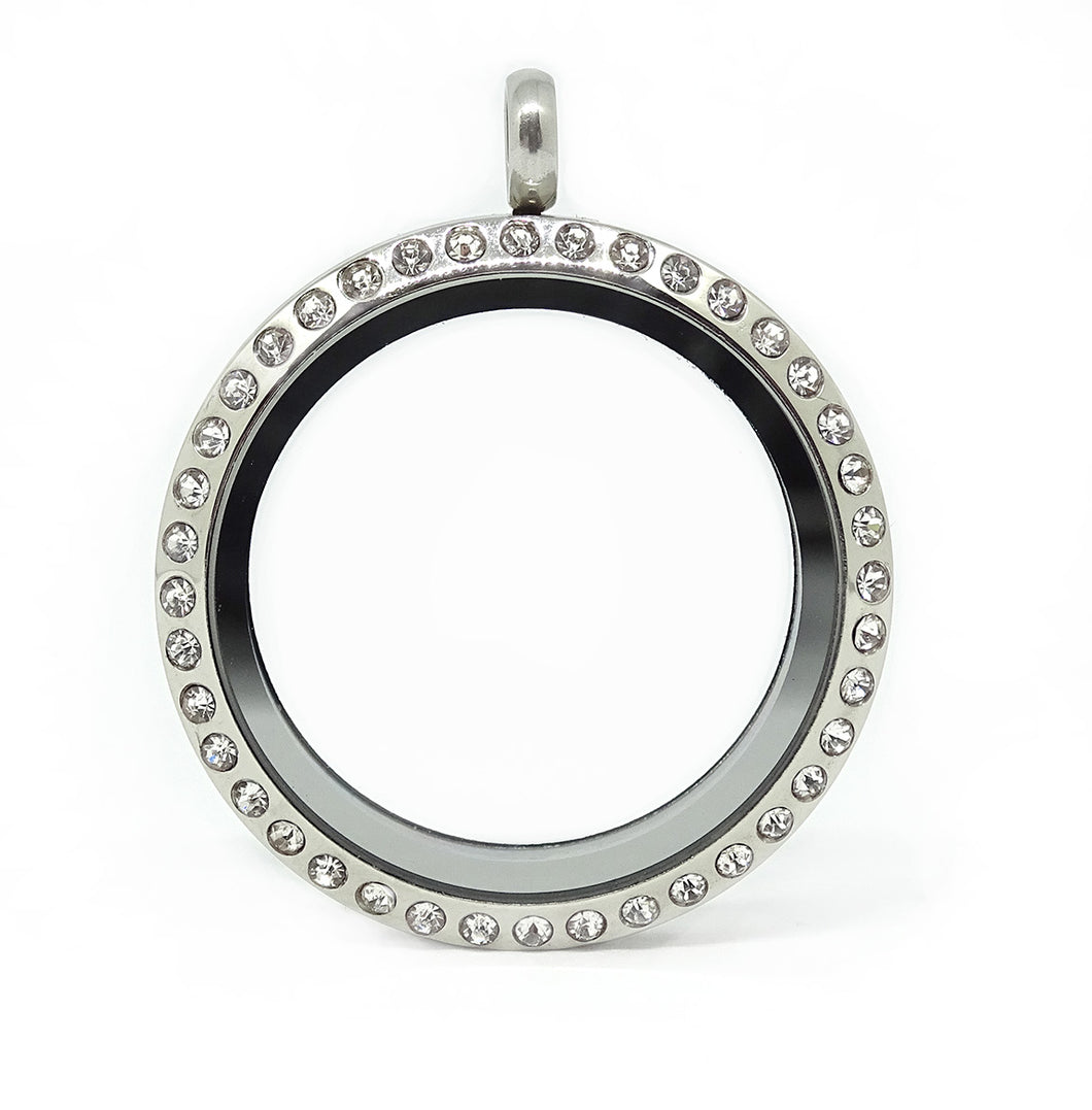 charm by clear product lockets lauryn original circle of james love locket laurynjames necklace