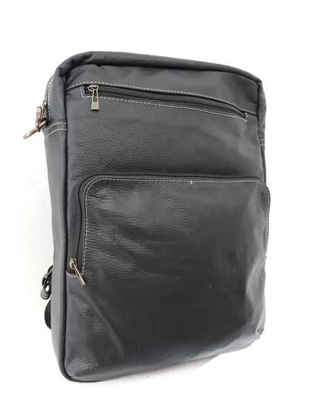 Backpack Messenger SELMOON LALO. Piel