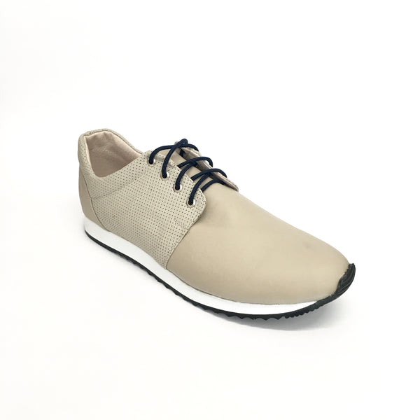 AutoMotiveShoes SELMOON ROBIN Hueso. Piel