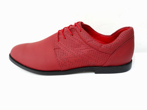 AutoMotiveShoes SELMOON FABIÁN Rojo. Piel