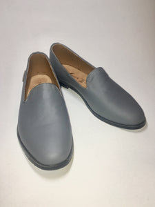 Mocasines AutoMotive Gris. Piel