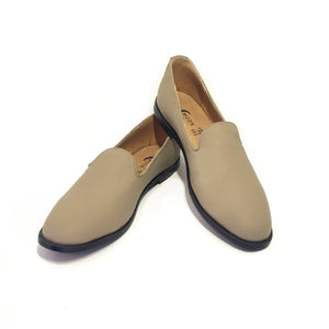 Mocasines AutoMotive Capuchino. Piel