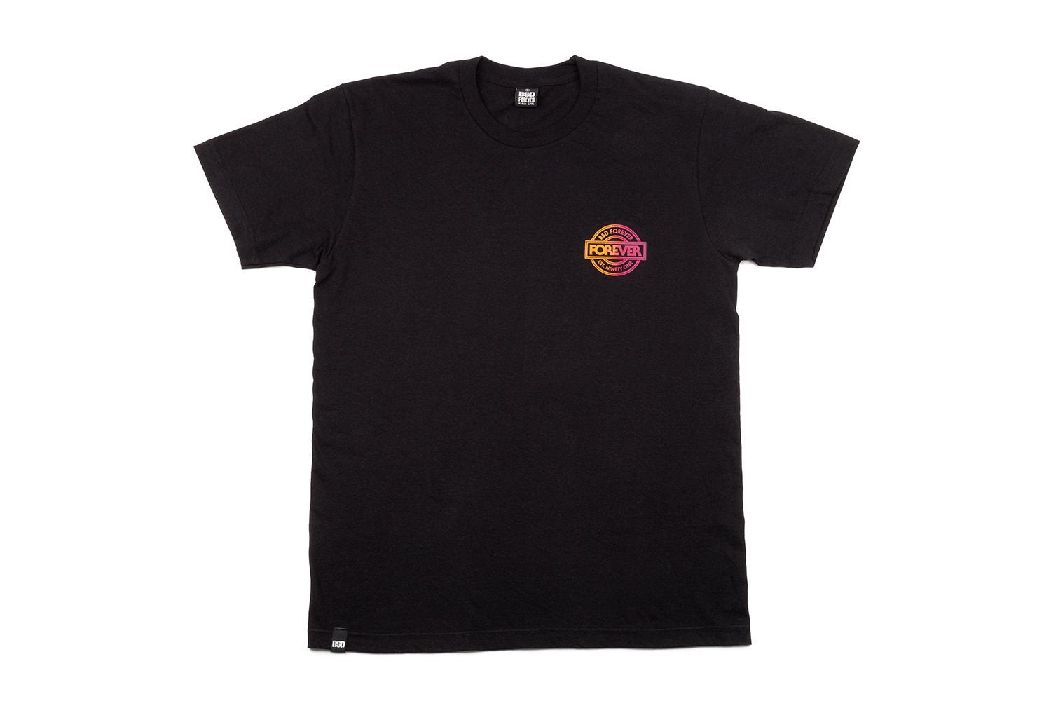 BSD Fade T-Shirt - Black - Large