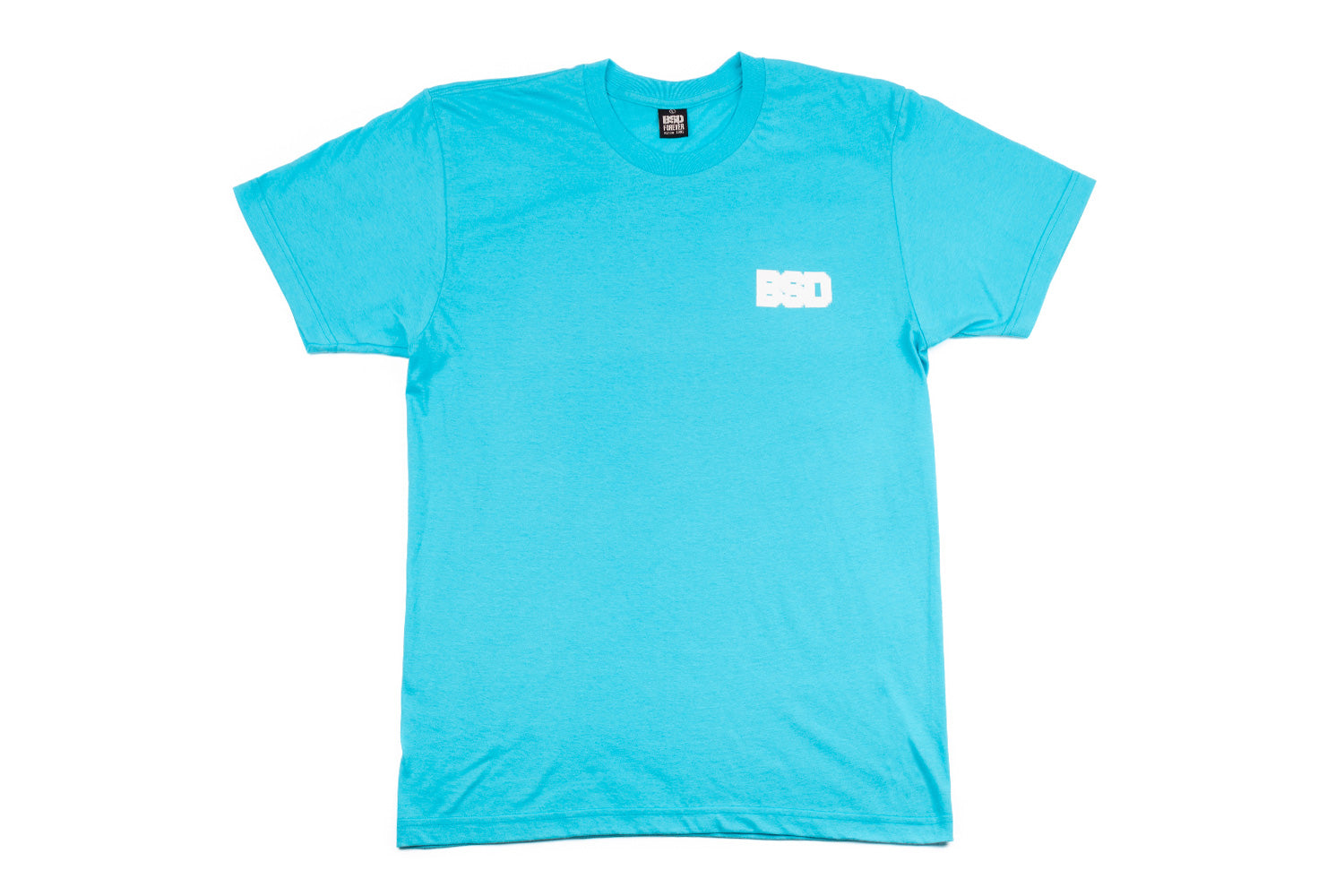 BSD Pixelate T-Shirt - Aqua - Large