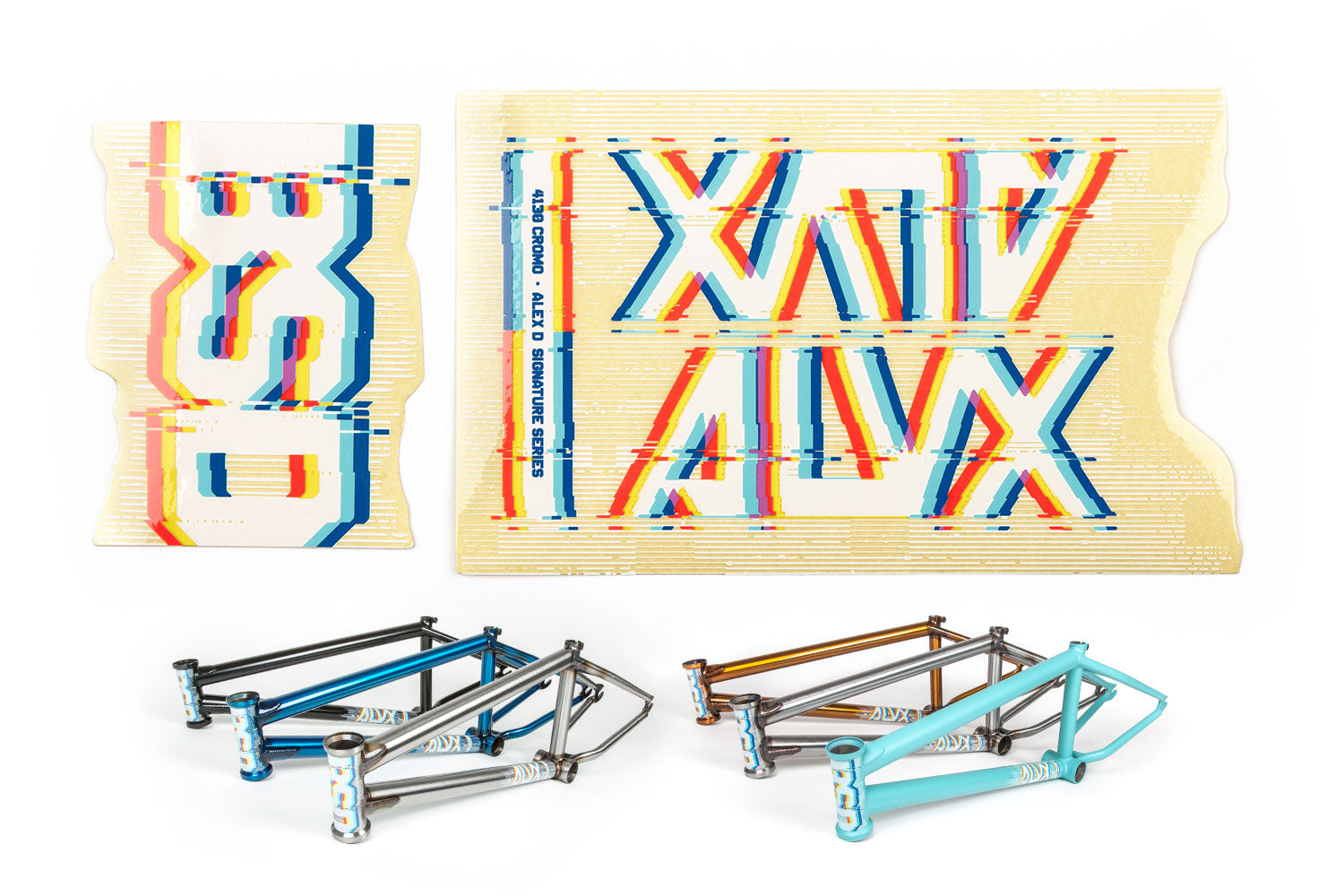 BSD Frame Sticker Packs - ALVX 2015