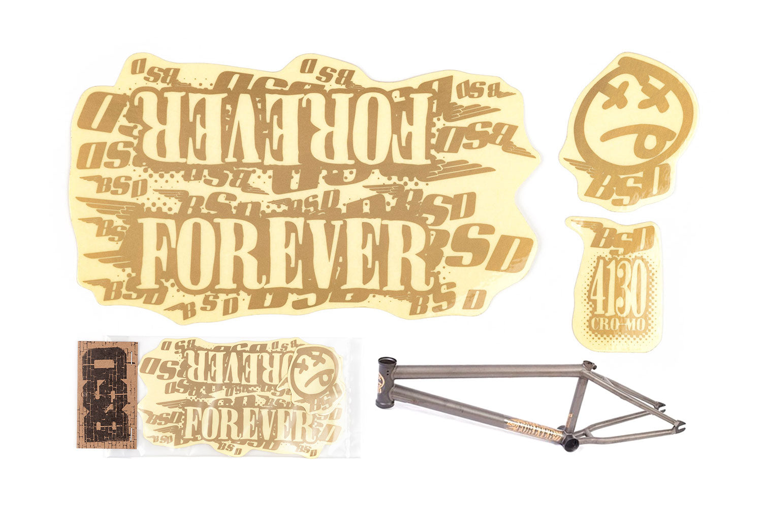 BSD Frame Sticker Packs - Forever 2009