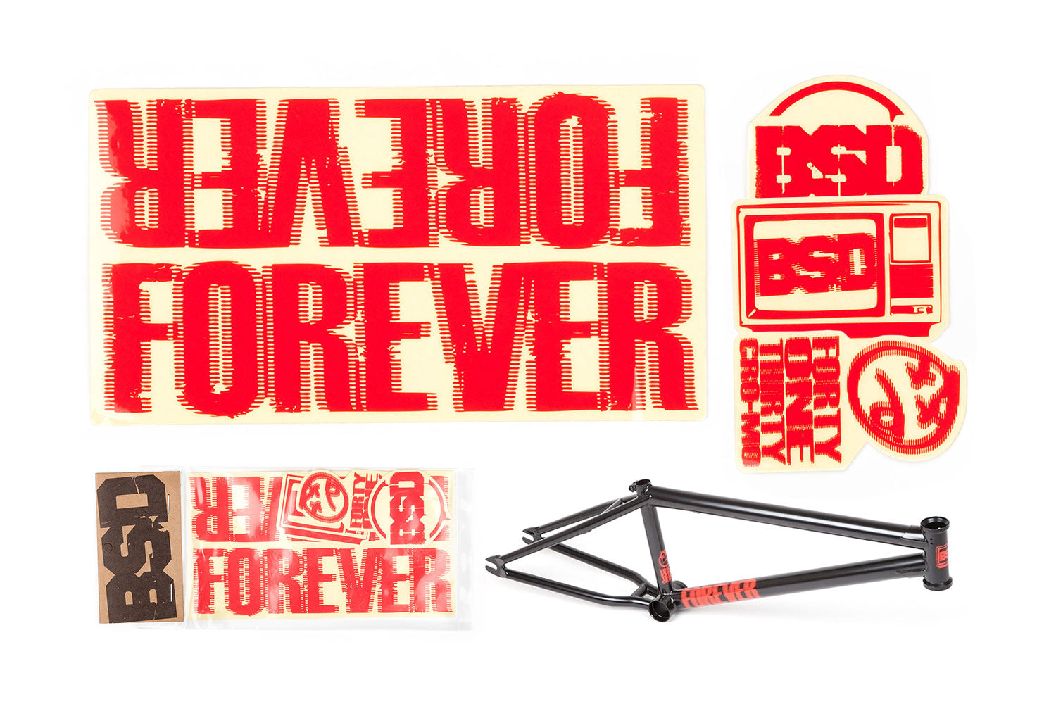 BSD Frame Sticker Packs - Forever 2011