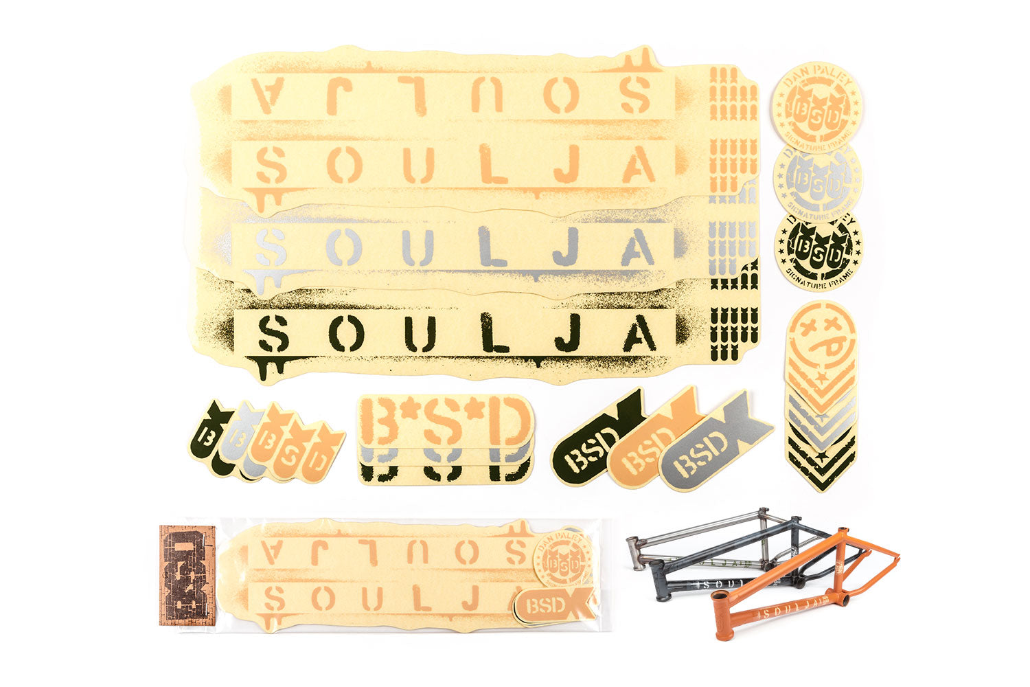 BSD Frame Sticker Packs - Soulja 2019