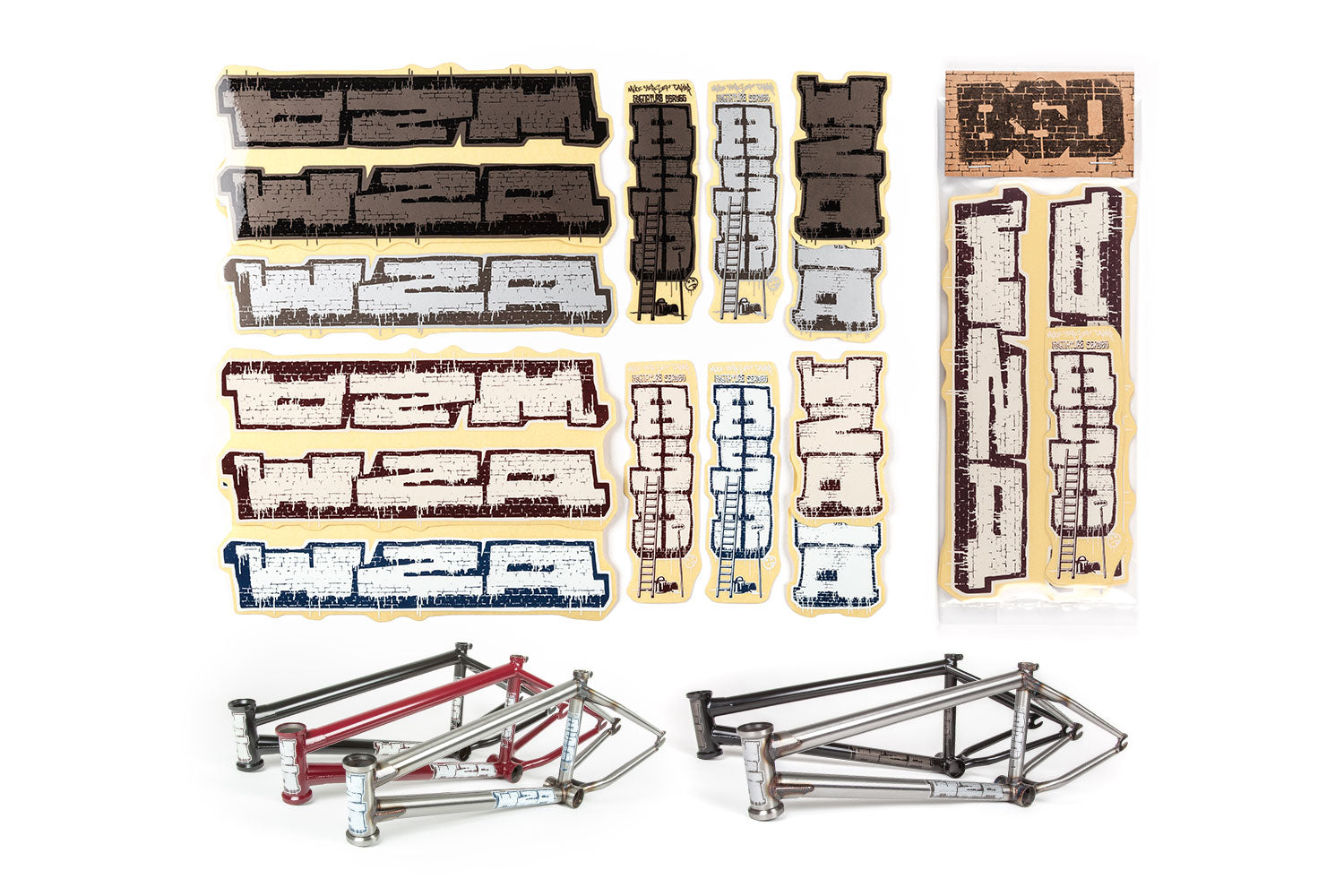 BSD Frame Sticker Packs - WZA 2015