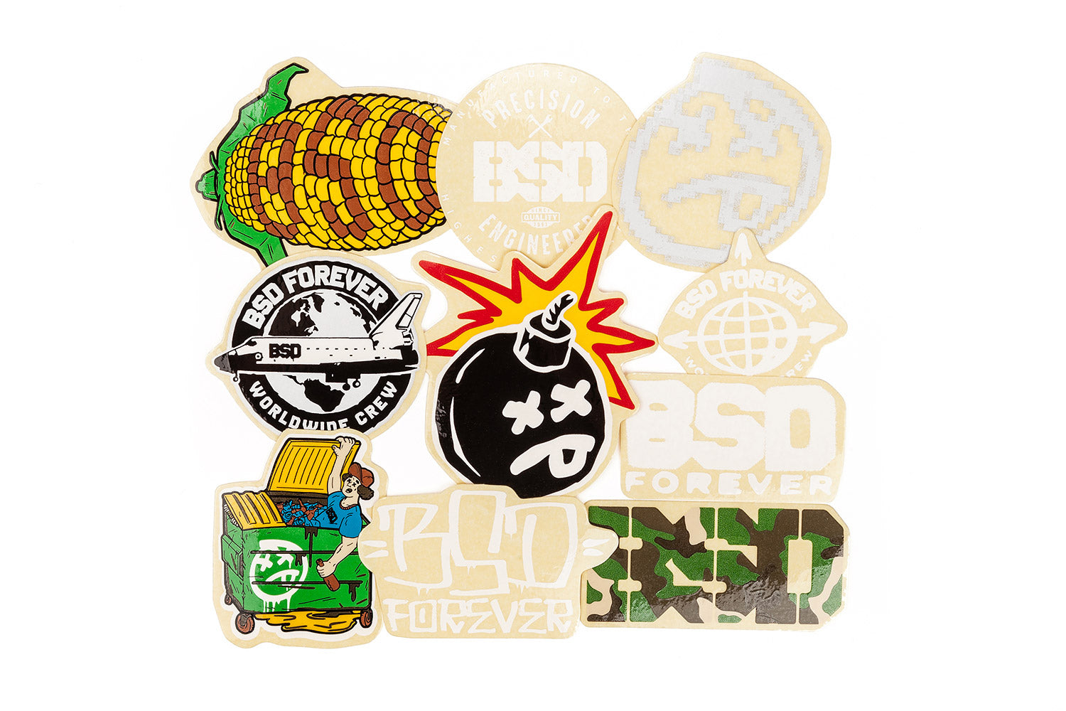 BSD 2019 Sticker Pack