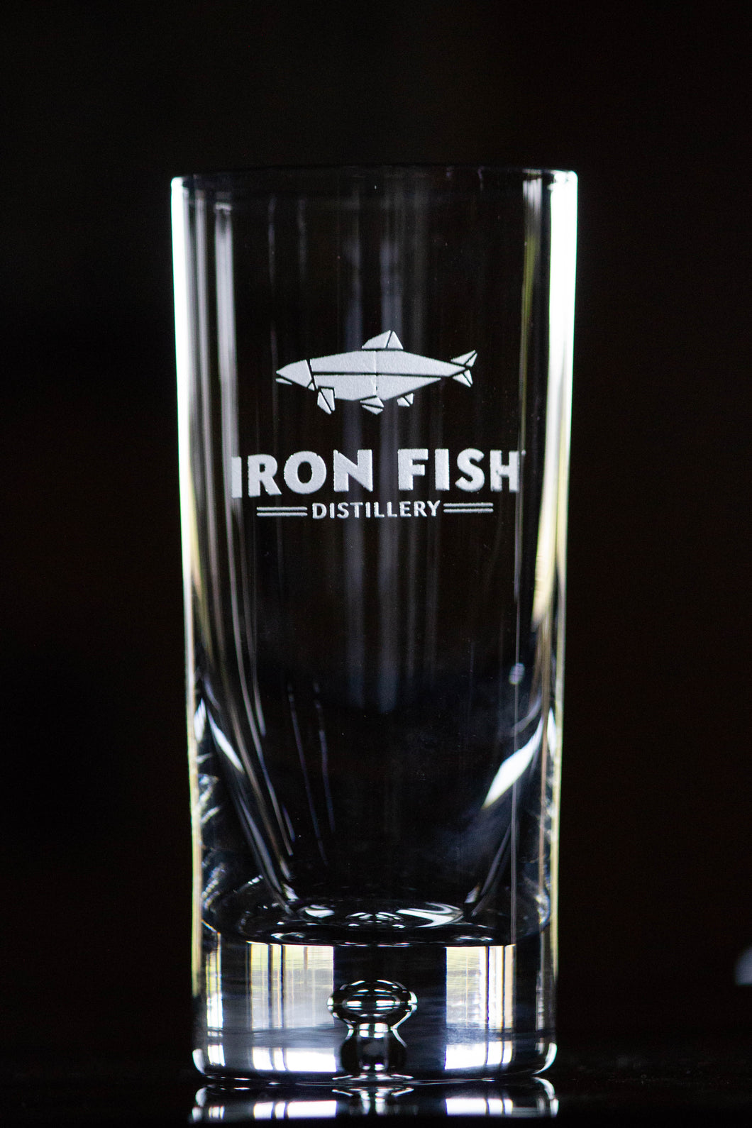 Iron Fish Collins Glass