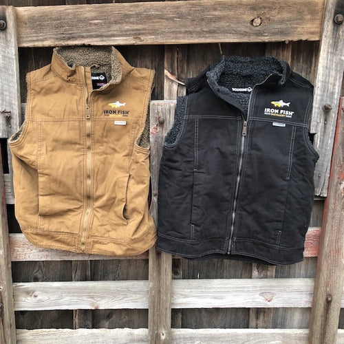 Sherpa Lined Duck Vests