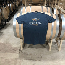 Men's Iron Fish Logo Tee