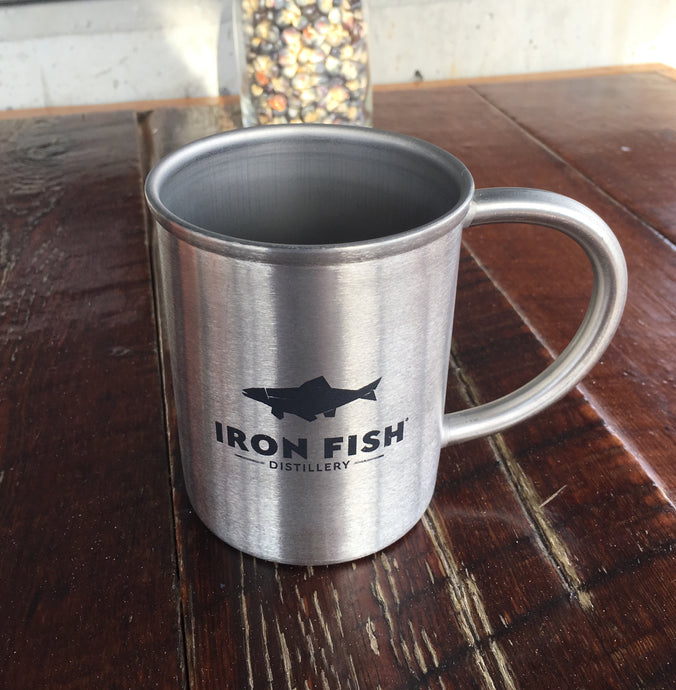 Iron Fish Tin Cup