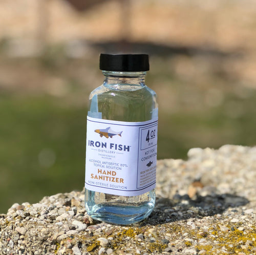 Iron Fish Hand Sanitizer 4 oz (Pick up ONLY)