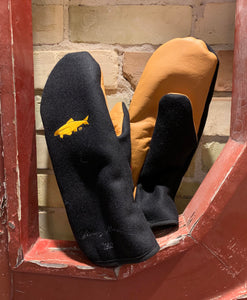 Iron Fish x Stormy Kromer® Tough Mitts Black/Gold