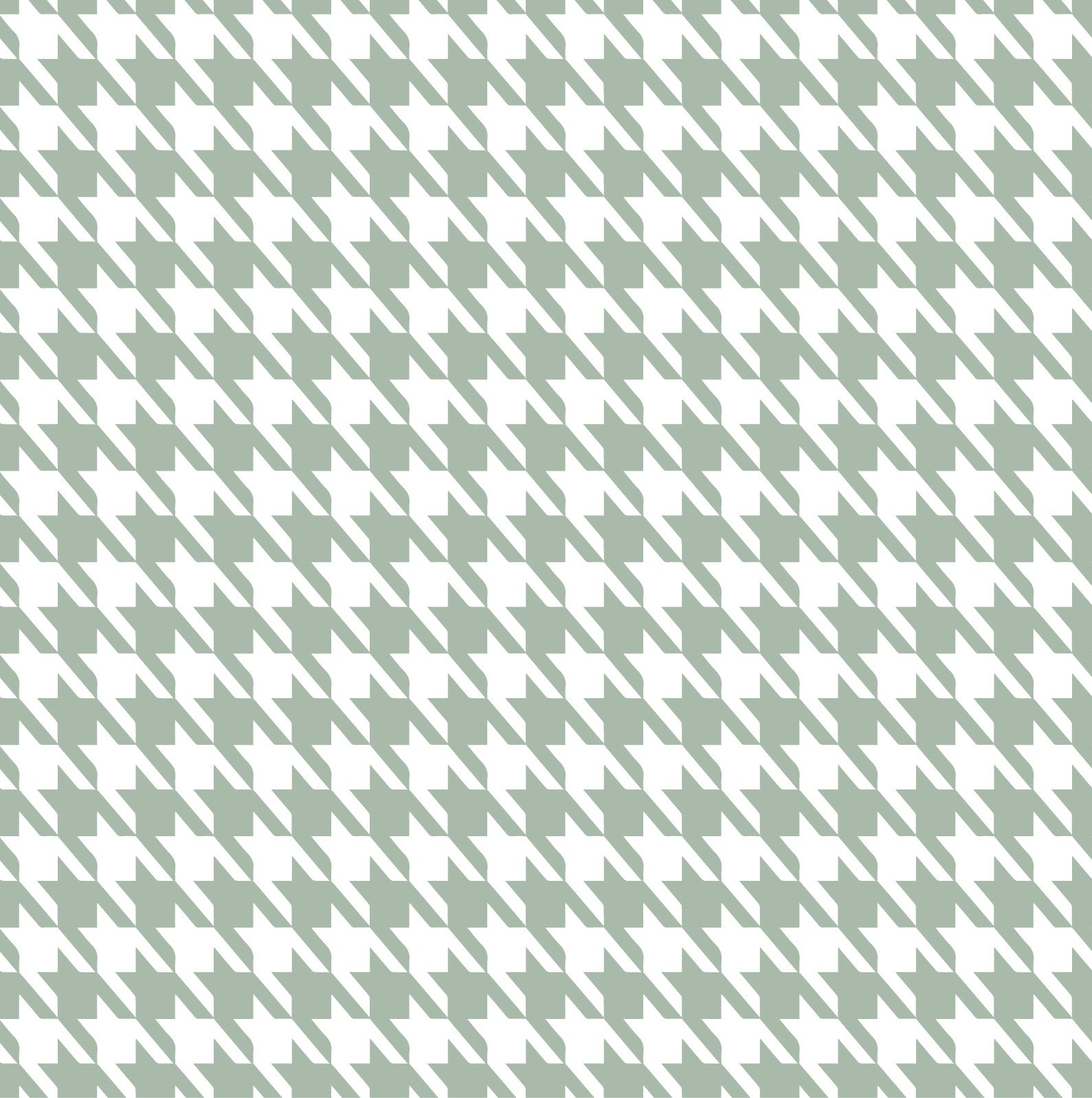 Baby Bamboo Grey Houndstooth