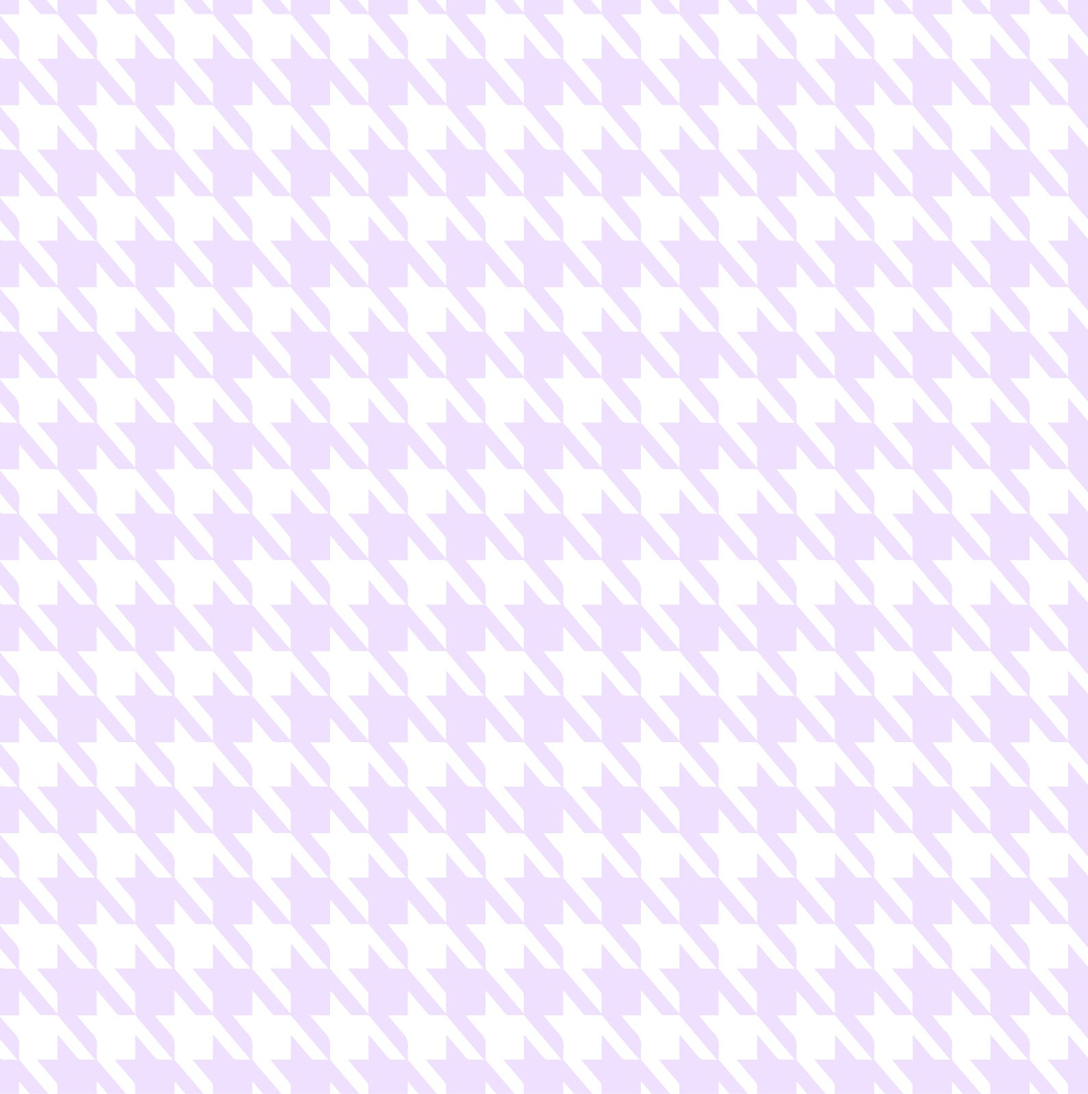 Baby Bamboo Lilac Houndstooth
