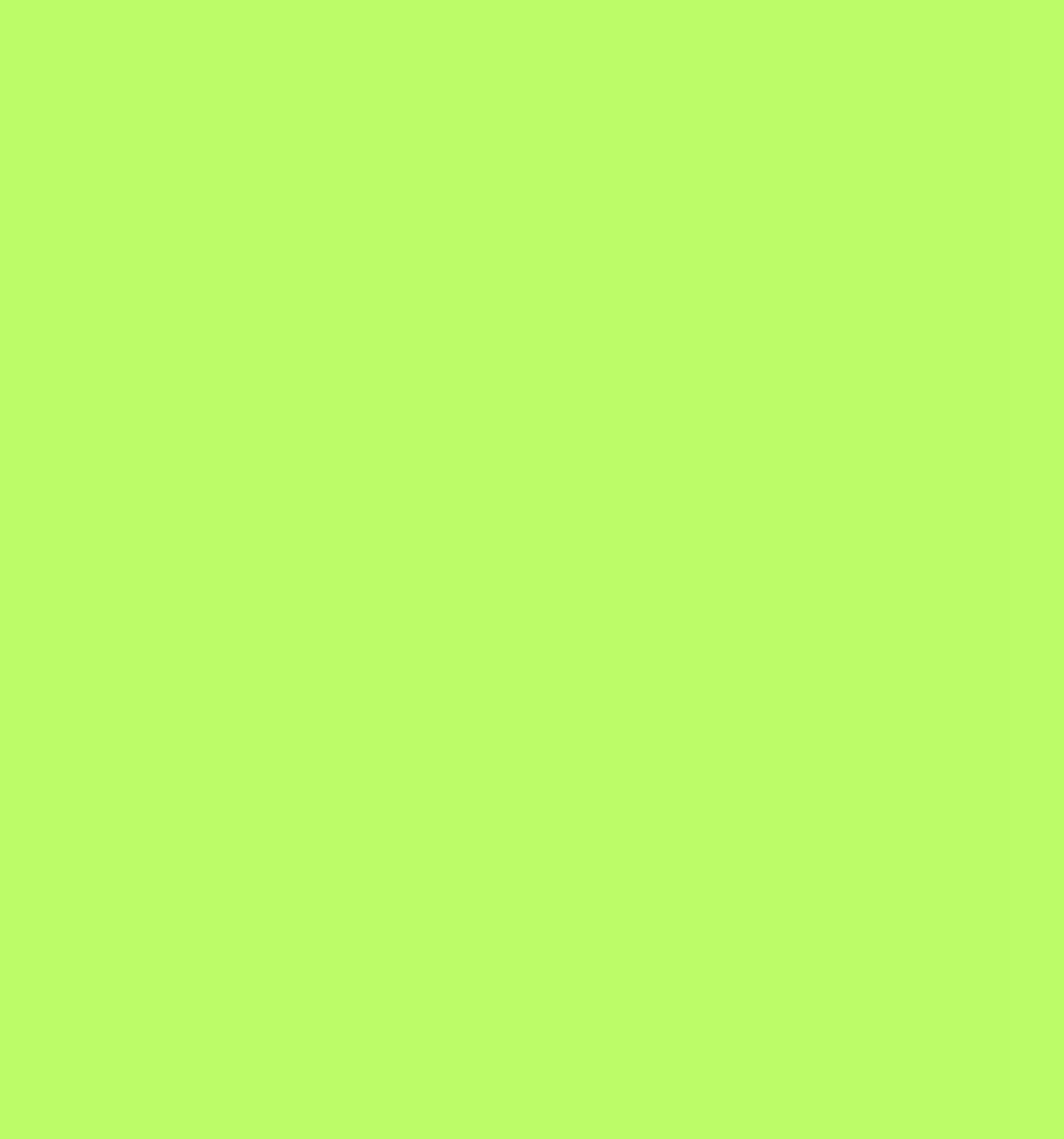 Cotton Flannel Lime