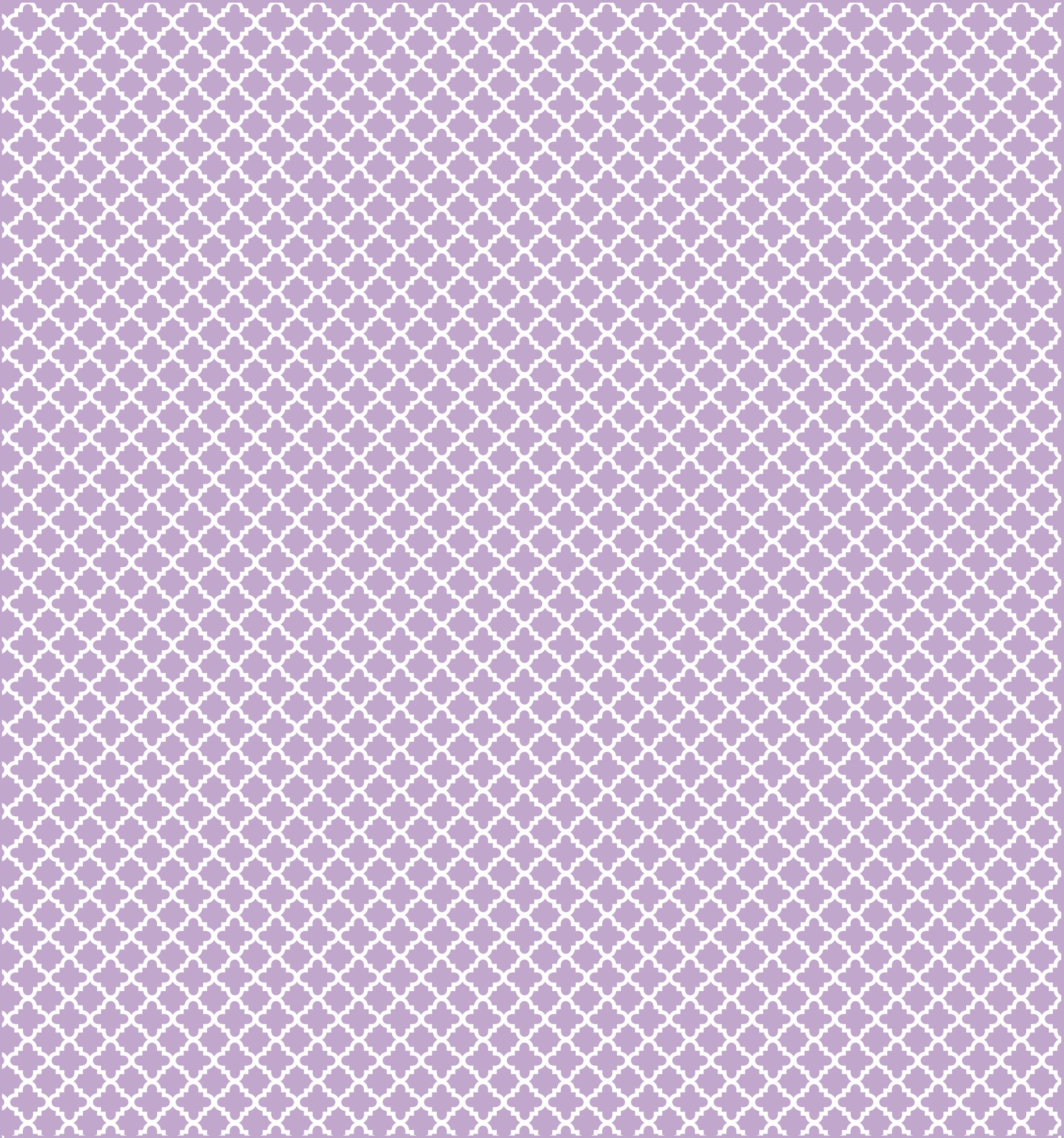 Cotton Flannel Print Trellis Lilac