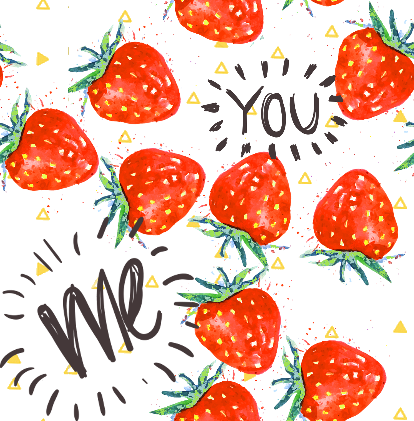 Stitch & Sparkle Fabrics, Fruity, We Love Strawberry  Cotton Fabrics,  Quilt, Crafts, Sewing, Cut By The Yard