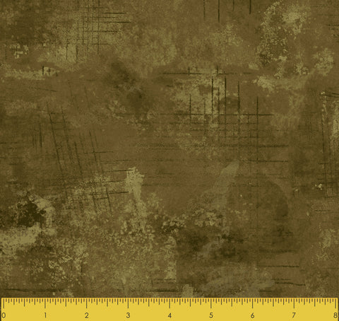 "Stitch & Sparkle TONE AND TONE OLIVE 100% Cotton Fabric 44"" Wide, Quilt Crafts Cut By The Yard"