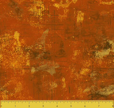 "Stitch & Sparkle TONE AND TONE ORANGE 100% Cotton Fabric 44"" Wide, Quilt Crafts Cut By The Yard"