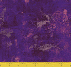 "Stitch & Sparkle TONE AND TONE PURPLE 100% Cotton Fabric 44"" Wide, Quilt Crafts Cut By The Yard"