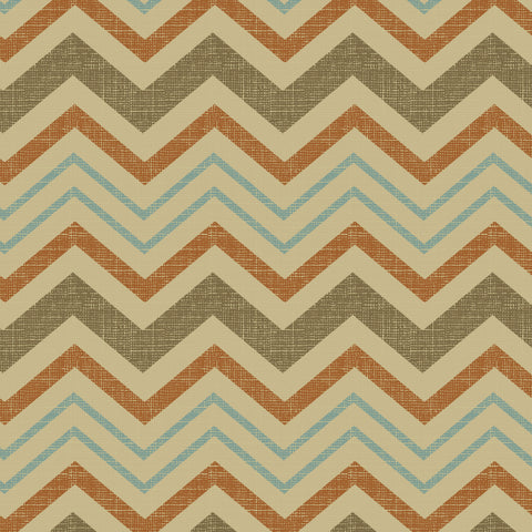 45'' Cotton Duck Canvas Chevron Adobe