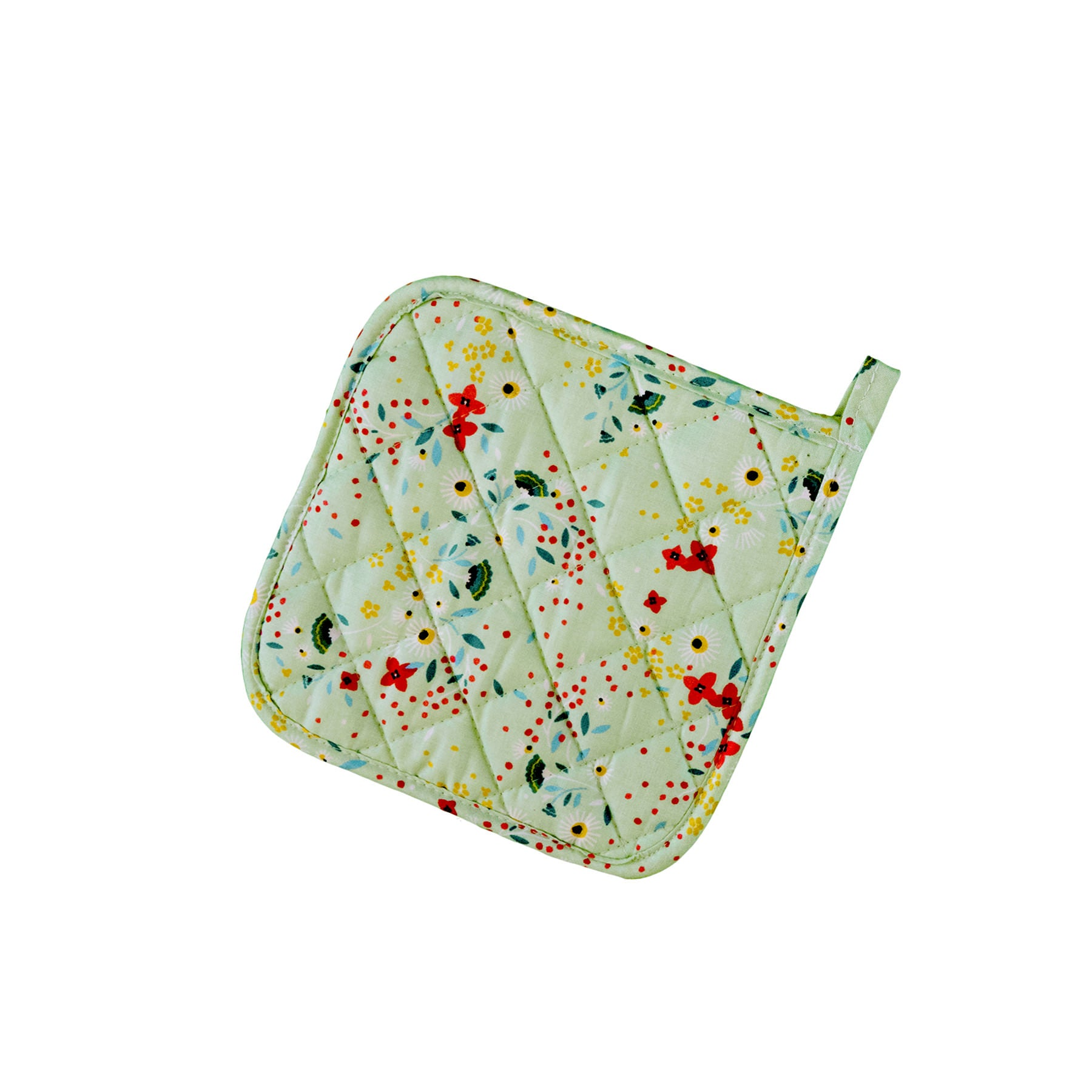 Stitch & Sparkle POT HOLDER 1 Piece Pack, Heat Resistant, 100% Cotton, Modern Scandinavian, MS Daisy Linden