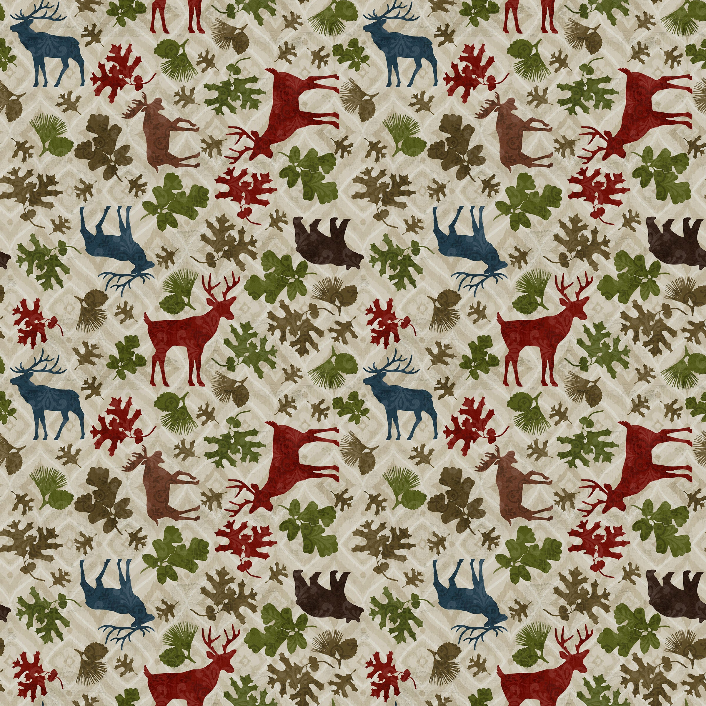 "Stitch & Sparkle Paul Brent-Lodge Farm-In The Forest 100% Cotton Fabric 44"" Wide, Quilt Crafts Cut by The Yard"